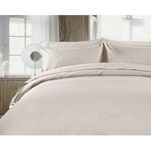 R.T. Home - 高級エジプト超長綿(エジプト綿)ホテル品質 枕カバー 50×70CM (枕カバー 50×75兼用)500スレッドカウント サテン織り クリーム ベージュ 封筒式|rtstudio|03
