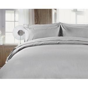 R.T. Home - 高級エジプト超長綿(エジプト綿)ホテル品質ボックスシーツ シングル (マチ40CM以上)500スレッドカウント サテン織り シルバー グレー(100*200*45CM)|rtstudio|02