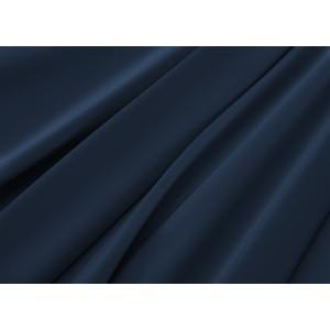 R.T. Home - 高級エジプト超長綿(エジプト綿)ホテル品質 枕カバー 50×80 封筒式500スレッドカウント サテン織り ミッドナイト ネイビー rtstudio 03