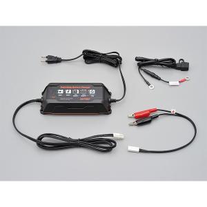 バッテリー充電器 デイトナ 12Vスイッチングバッテリーチャージャー|rubbermark