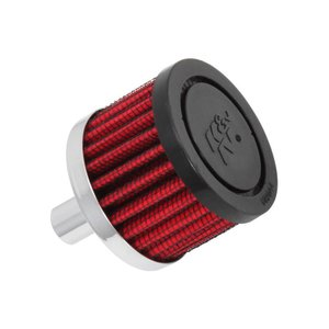 K&N ケーアンドエヌ ブリーザー/ラバー φ13(51X38)GB250/セロー/ブロンコ/FTR223(AI) rubbermark