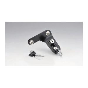 キジマ ヘルメットロック ブラック CBR250R 11 CBR400R/CB400F/X 13-(NC47)|rubbermark