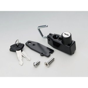 キジマ ヘルメットロック ブラック ZX-14R 12|rubbermark