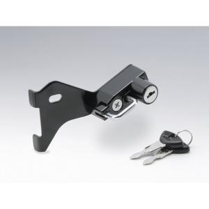 キジマ ヘルメットロック ブラック ニンジャ650/ER-6N 12-|rubbermark