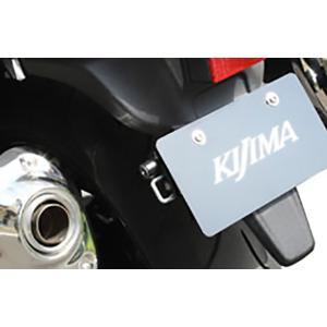 キジマ ヘルメットロック ナンバーサイドシングルL 汎用 ブラック 左側用|rubbermark