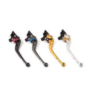 【46%OFF】エルエスエル ADJレバー シルバー/レッド GSX-S1000/F 15-18/GSX-R1000 05-18/GSX-R600/750 04-18等 rubbermark