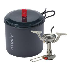 SOTO アミカスポットコンボ クッカー バーナー ストーブ OD缶 rubbermark