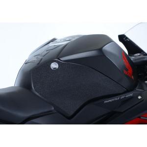 アールアンドジー トラクションパッド ブラック CBR250RR 17-|rubbermark