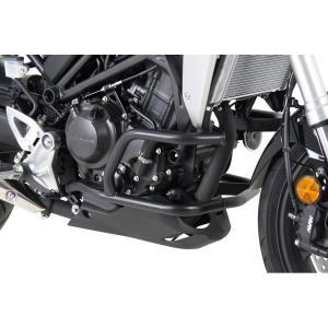 ヘプコアンドベッカー エンジンガード ブラック CB250R/ABS 18|rubbermark
