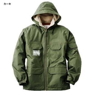 LOGOS ロゴス フード付き 防水防寒ジャケット フォード ミリタリー アウトドア 釣り 屋外作業 30504|rubbermark|04