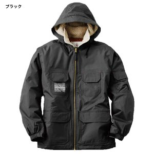 LOGOS ロゴス フード付き 防水防寒ジャケット フォード ミリタリー アウトドア 釣り 屋外作業 30504|rubbermark|05