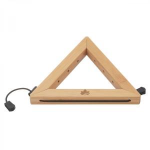ロゴス Bamboo なべ敷き トライアングル|rubbermark