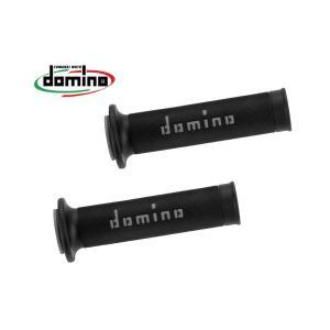 ドミノ グリップ レースタイプ ブラックXグレー|rubbermark