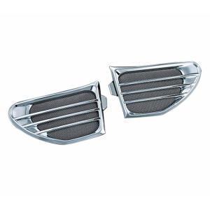 クリアキン スピーカー グリル クローム INDIAN CHIEFTAIN/ROADMASTER 14-16|rubbermark
