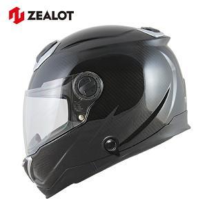 ジーロット バイク フルフェイス ヘルメット カーボン BullRaider CARBON HYBRID ZEALOT BRC0010|rubbermark