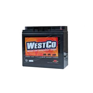 WESTCO(ウエストコ) バッテリー Classic 12V 20Ah 51913 51814 相当 BMW rubbermark