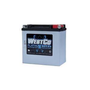 WESTCO(ウエストコ) バッテリー プラチナム Platinum 12V 12Ah YTX14L 相当 65958-04A対応品 ハーレー HARLEY rubbermark