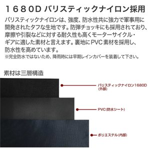 シートバッグ リアバッグ ツーリングバッグ IGAYA イガヤ バイク キャンプ 容量可変式 20L〜28L ブラック IGY-SBB-R-0010 ツーリングバッグ|rubbermark|03