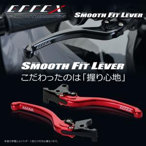 エフェックス スムースフィットレバー レッド GROM/MONKEY125 モンキー125 rubbermark