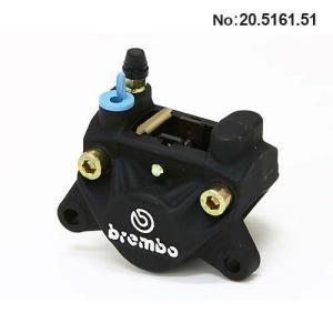 ブレンボ 2ピストンキャリパー 旧カニ ブラック キャスティング 84mmピッチ 32mm 取付 取り出し左 brembo 20.5161.51|rubbermark