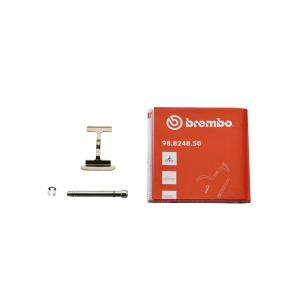 リペアパーツ ブレンボ パッドスプリング パッドピン パッドピン用Cクリップ セット 2POT 旧カニ 32mm ブラック 20.5161.51用 brembo 120.2800.11の画像