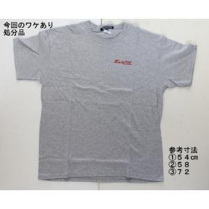 【処分品】 ロゴTシャツ グレー XL(日本サイズ:2L〜3L相当) 大きいサイズ ゼロエンジニアリング rubbermark