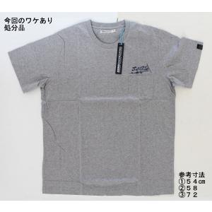 【処分品】 ベーシックTシャツ グレー XL(日本サイズ:2L〜3L相当) 大きいサイズ ゼロエンジニアリング rubbermark