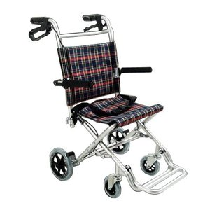 Nice Way(ナイスウェイ) 折りたたみ式 【座面幅約40cm】【車椅子簡易式】【軽量】【コンパクト】【介護・介助用】【車いす】【介助ブレーキ付き】【アルミ】|rubl|06