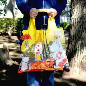 カバンに忍ばせて大活躍♪ガサゴソ詰め込むキュートなエコバッグスケッチブックが入るほどの横に広いバッグ...