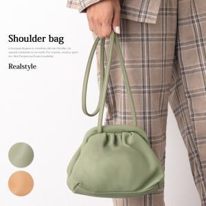 バッグ レディース 鞄 カバン かばん 斜め掛け 肩掛け ミニバッグ 巾着バッグ がま口バッグ 口金 小さめ 軽量 無地|ruckruck
