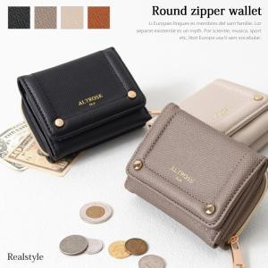 ラウンドファスナー 三つ折り財布 レディース 財布 サイフ ミニ財布 極小財布 1912ss|ruckruck