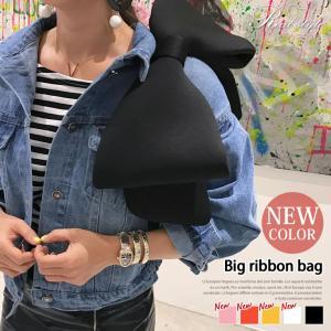 バッグ レディース 鞄 かばん カバン りぼん ボンディング  リボンハンドル