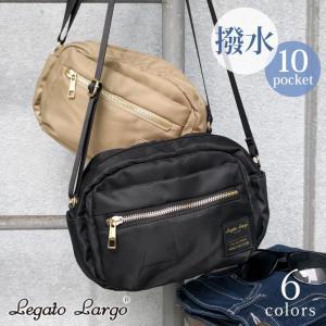 ミニショルダーバッグ サコッシュ レディース お財布ポシェット 鞄 かばん カバン Legato Largo レガートラルゴ はっ水 撥水 斜め掛け 肩がけ|ruckruck