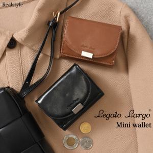 レガートラルゴ 財布 三つ折り財布 3つ折り レディース サイフ ミニ ウォレット 小さめ カード コイン ケース 小銭入れ コンパクト Legato Largo|ruckruck