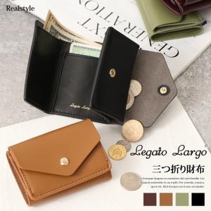 Legato Largo レガートラルゴ アイディールフェイクレザー 三つ折り財布 財布 レディース ミニ財布 ミニウォレット ruckruck