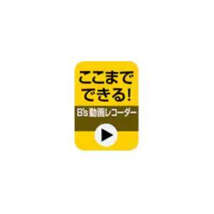 ここまでできる!「B's 動画レコーダー」 【ダウンロード版】