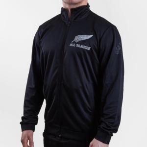 ラグビー オールブラックス ニュージーランド代表 1/4 Zip プレーヤー ジャケット 公式 メンズ レディース ユニセックス