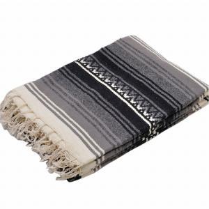 モリーナインディアンブランケット (Molina Indian Blanket) Wool Falza Blanket/ウールファルサブランケット[約213×157cm]DK.GRAY rugforest