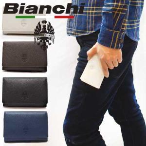 ビアンキ キーケース 正規品 Bianchi ビアンキ 本革 レザー 鍵ケース キーケース レザーケ...