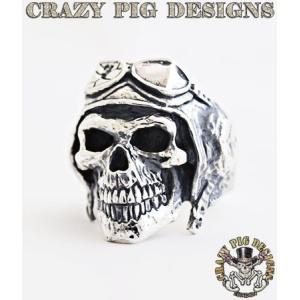 クレイジーピッグ リング 指輪 CRAZYPIG デスフロムアバーブリング CRAZY PIG メンズ リング レディース リング|rugged-market