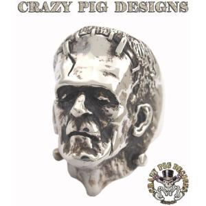 クレイジーピッグ リング 指輪 CRAZYPIG フランケンシュタインリング CRAZY PIG メンズ リング レディース リング|rugged-market