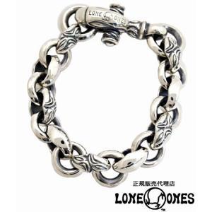 LONE ONES ロンワンズ ブレスレット カーブド シルクヘロンブレスレット