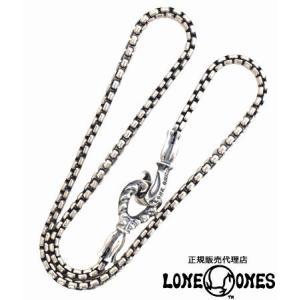 LONE ONES ロンワンズ ネックレス ラージフック2.6mmボックスチェーン 約40〜50cm...