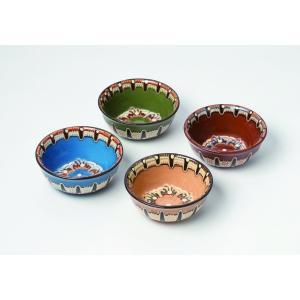 ブルガリア工芸食器 トロヤン陶器 トロヤンのしずく ボウル 小サイズ 直径12cm|ruinok-2
