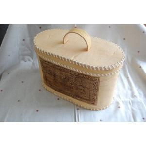 1点もの!!白樺の皮ベレスタのパンケース 大きいサイズ 働き者の年頃娘 夫婦編|ruinok-2