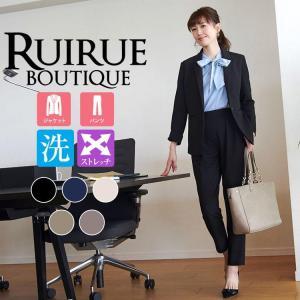 パンツスーツ セットアップ 通勤 OL オフィス 50代 40代 30代 レディース ミセス 女性 ...