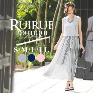 ワンピース パーティードレス  結婚式 フォーマル 二次会 パーティー お呼ばれ 30代 40代 50代|ruirue-boutique
