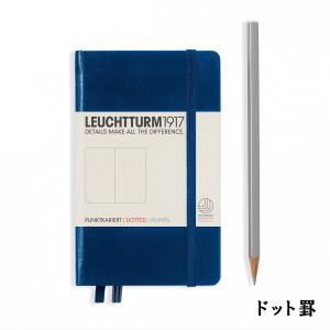 ロイヒトトゥルム社の「ノートブック コレクション」のポケットサイズノート。 最初のページには目次やテ...