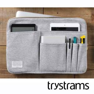 trystrams/トライストラムス バッグインバッグ(Lサイズ) グレー コクヨ THM-MM04...