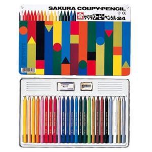 サクラ クーピーペンシル24色 缶入り(色鉛筆...の関連商品1